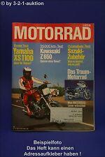 Motorrad 7/78 Yamaha XS 1100 Kawasaki Z Bultaco Honda
