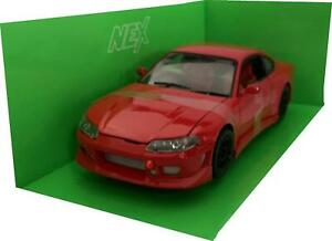 Nissan Silvia (S15) RS-R in red 1:24 scale model from Welly