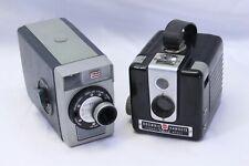 Kodak Brownie 8mm Movie Camera & 620 Hawkeye Film Camera