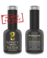 INFINITY NAILS Top coat (NO WIPE) - nail gel polish - UV/LED - NO WIPE TOP 15ml