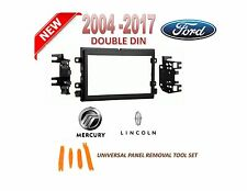 2004-2015 FORD LINCOLN MERCURY DOUBLE DIN CAR STEREO INSTALLATION DASH KIT