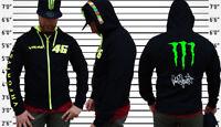 Sudadera Valentino Rossi Motos gp 46 The doctor VR/46! Negro/Amarillo