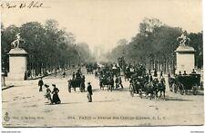 CPA-Carte postale-  France -Paris - Avenue des Champs Elysées (CP1410)