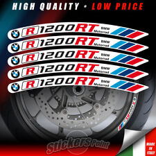 kit 5 Adesivi R 1200 RT BMW cerchi ruote moto stickers Motorrad Flags R1200 RT