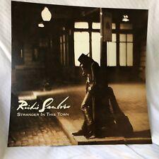 RICHIE SAMBORA Stranger in this Town  2-sided 12 x 12 Promo LP Flat / Poster