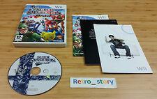 Nintendo Wii Super Smash Bros Brawl PAL