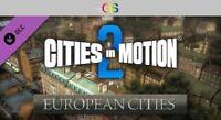 Cities in Motion 2: European Cities DLC Steam Key Digital Download PC [Global]