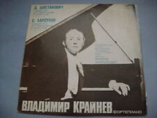Krainev-piano, Shostakovich/Barsukov: concierto No2 Lp