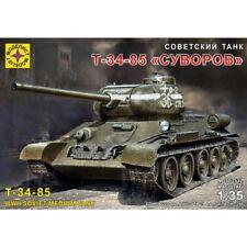 T 34 85 Suvorov Soviet WWII Medium Tank Model Kits scale 1:35