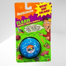 Vintage Nickelodeon FLOAM! BLUE Original 1994 by Mattel. Sealed in Package! Rare