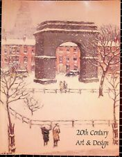 Treadway/Toomey 20th Century Art & Design, Auction Catalog, December 8th, 2003