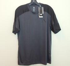New Adidas MENS Running Workout Training Climacore SS Top Tee Shirt Grey SZ M L
