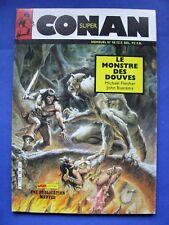 """Super Conan Spécial Numéro 18 """" Le Monstre des Douves  """" /Mon Journal 1987"""