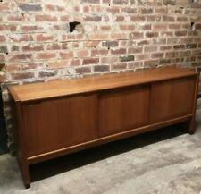 More details for vintage large mid century teak sideboard