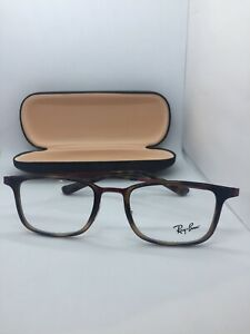 NEW AUTHENTIC RAY BAN RB 6373M 2959 TORTOISE/RED FRAMES 52-20-145 Fast Free Ship