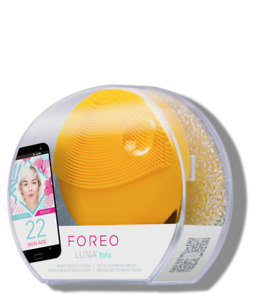 AUTHENTIC FOREO Luna Fofo Sunflower Yellow Sealed Facial Cleansing SEALED