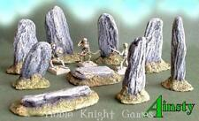 Ainsty Fantasy Mini Terrain 28mm Stone Circle Set Pack MINT