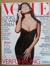 + VOGUE GERMANY 11 - 2003 Monica Bellucci Sigourney Weaver Debby Harry A.Hopkins
