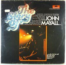"2x 12"" LP - John Mayall - The Story Of John Mayall - A4954 - cleaned"
