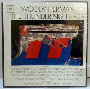 Woody Herman - The Thunder Herds - COLUMBIA RECORDS C3L 25