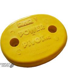 "DHD / EDWARDS ""Power Pivot"" NOS Skateboard Tail Saver 1970s Yellow Original Rare"