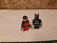 Lego Batman And Robin Figures dc universe