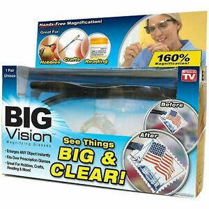 Big Vision Glasses Magnifying Glasses As Seen On TV