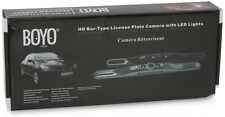 BOYO Vision VTL422HDL (Black) HD Bar Type License Plate Rear-View Camera w/ LED