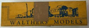 Vintage Walthers Models Train Box - Box Only - Milwaukee - #3810