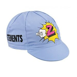 Z VETEMENTS RETRO CYCLING BIKE CAP - Vintage - Fixed Gear - Made in Italy
