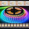 Adressierbare SK6812 5050 RGB LED-Streifen RGBW Wasserdicht Vollfarbe WS2812B 5v