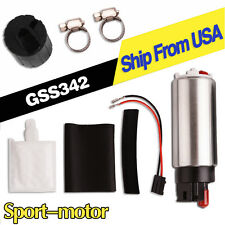 GSS342 255LPH Intank Electric High Pressure Fuel Pump With Installation Kit