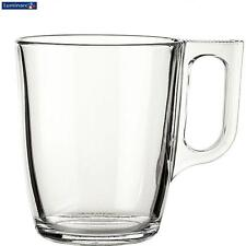 Luminarc Clear Glass Transparent 25Cl Nuevo Mug Coffee Serveware Kitchen New