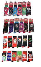 Mens  Ladies Christmas Socks Novelty Socks Stocking Filler Xmas Gift