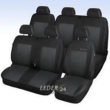 VW T5 6 Sitze  BJ 2003-2015  Volkswagen Maß Sitzbezüge Schonbezüge P3