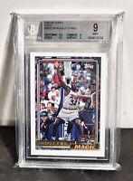 1992 TOPPS GOLD Shaquille O'Neal Rookie #362 BGS 9 Mint Shaq Oneal RC HOF PSA