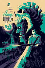 Mondo Tom Whalen - Evil Dead Army of Darkness Screen Print Run of 275 Sold Out!!