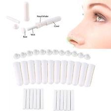 Essential Oil Aromatherapy Blank Nasal Inhaler Tubes Empty 5/10/25/50/100Pc T5C9