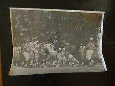 1970 BC Lions photo vs SASKATCHEWAN Original by Bill Cunningham signed July 20