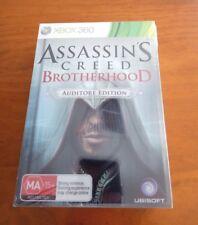 ASSASSINS CREED BROTHERHOOD AUDITORE EDITION XBOX 360 BRAND NEW & SEALED!!