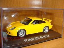 PORSCHE 911 GT3 GT-3 YELLOW 1:43 MINT!!!
