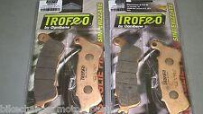 2 coppie pastiglie anteriori Honda CBF 1000 ABS SINTERIZZATE