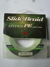 Pezon & Michel Slide Braid Fluo Green Hyper PE 6.6kg  14.55lb  100m Carp Fishing