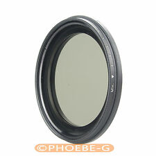 TIANYA 58mm Fader ND Filter with 67mm Front thread