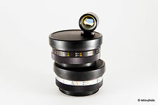 Yashikor auxiliary lenses (wide angle & telephoto), tele-wide finder & case, Ø55