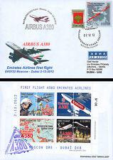 """FFC RUSSIE à bord """"Airbus A380 Emirates - 1er Vol EK132 Moscou-Dubaï"""" 2012"""