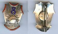 Cuirassiers -  8° Régiment cuirassiers émail AB poinçon 1942 dos lisse
