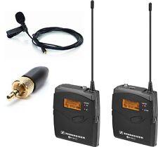 Sennheiser EW112-p G3 Wireless Kit with a Rode Lavalier - Get better sound!