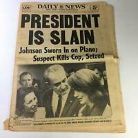 VTG Daily News Newspaper November 23 1963 - Lyndon Johnson / John F. Kennedy