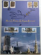 Belgique-België, 2 Cartes Émissions Communes, Neuves, Très Bien